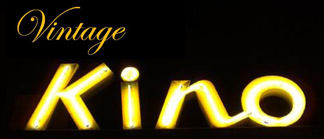 Vintage kino logo